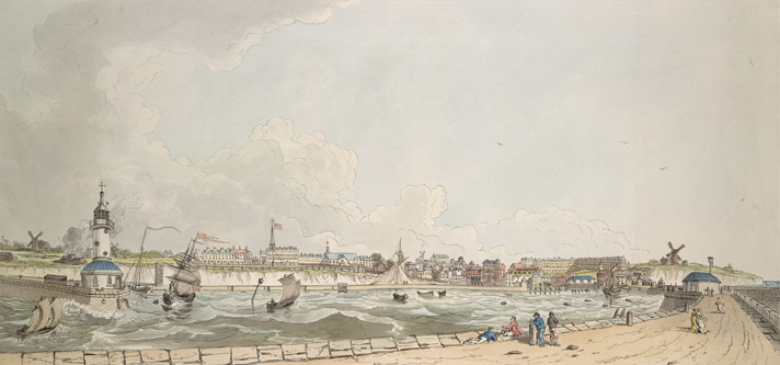 View of Ramsgate Town and Harbour